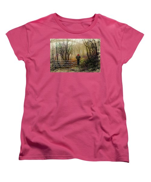 Ever On And On... Women's T-Shirt (Standard Cut) by Jessica Brawley
