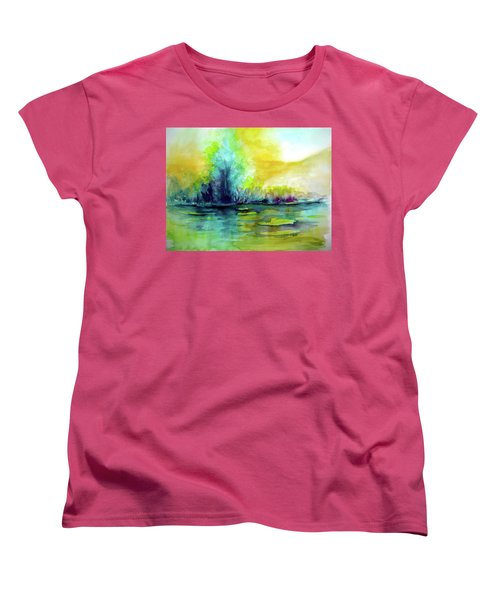 Expressive Women's T-Shirt (Standard Cut) by Allison Ashton