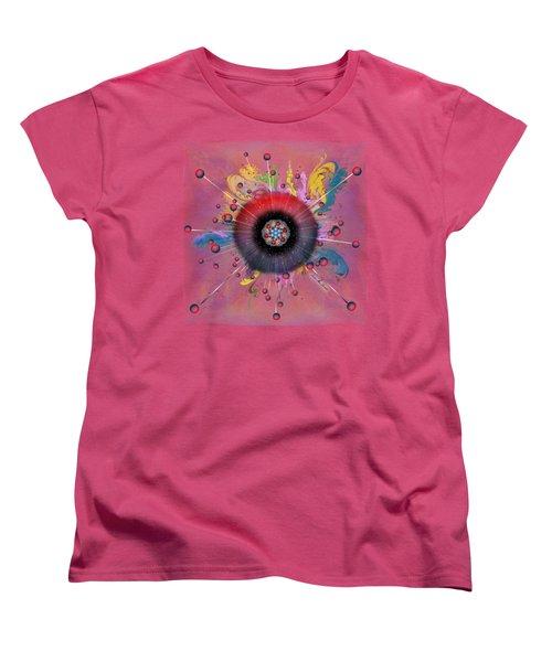 Eye Know Light Women's T-Shirt (Standard Cut) by Iowan Stone-Flowers