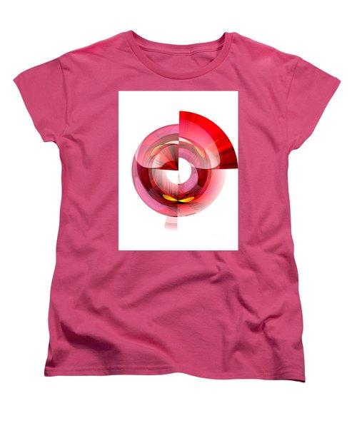 Eyes In Tunnel Women's T-Shirt (Standard Cut) by Thibault Toussaint