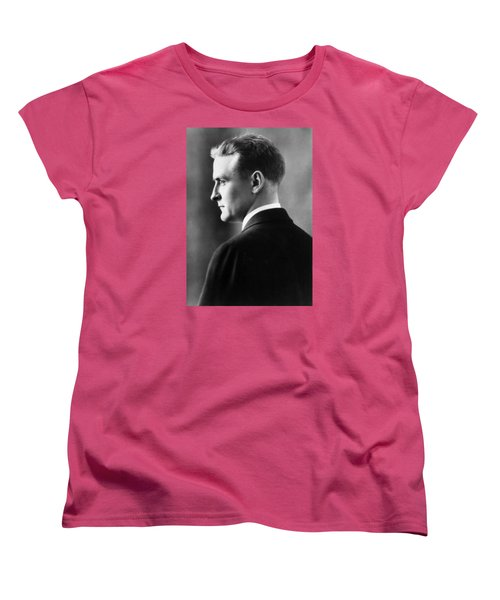 F. Scott Fitzgerald Circa 1925 Women's T-Shirt (Standard Cut) by David Lee Guss