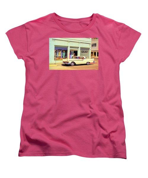 Fairlane 500 1957 Women's T-Shirt (Standard Cut) by John Schneider
