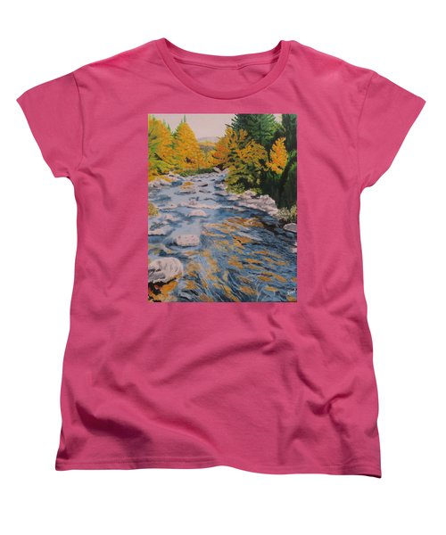 Fall Is Coming Women's T-Shirt (Standard Cut) by Hilda and Jose Garrancho