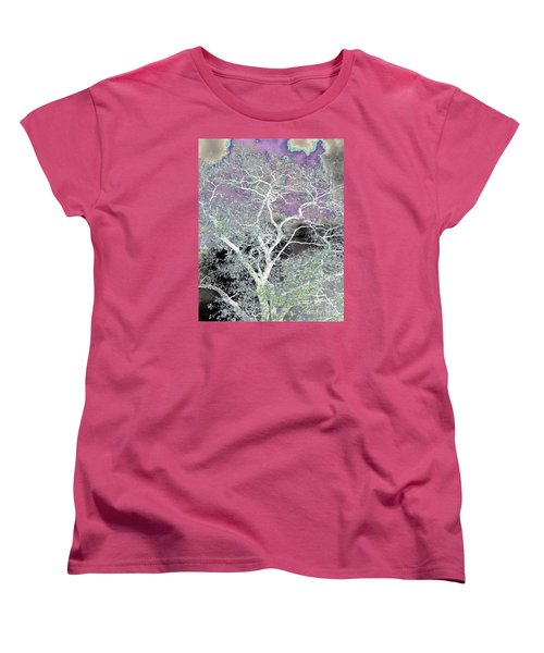 Women's T-Shirt (Standard Cut) featuring the photograph Family Tree by Jesse Ciazza
