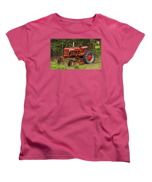 Women's T-Shirt (Standard Cut) featuring the photograph Farmall Cub by Christopher Holmes