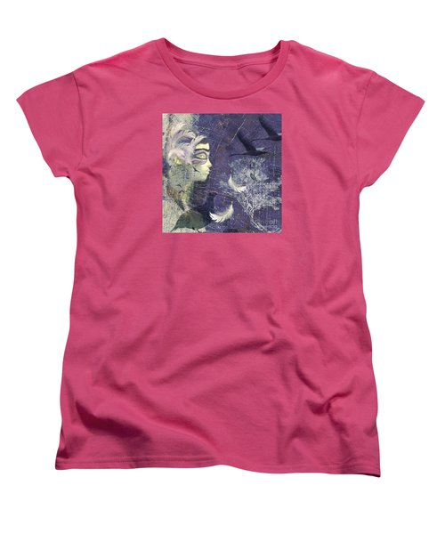 Feathered Friends Women's T-Shirt (Standard Cut) by LemonArt Photography