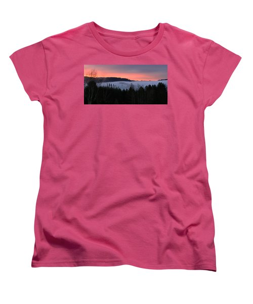 February Oregon Sunrise Women's T-Shirt (Standard Cut)