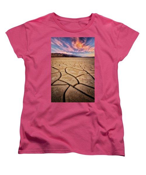 Field Of Cracks Women's T-Shirt (Standard Cut) by Nicki Frates