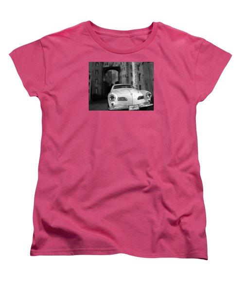 Film Noir Women's T-Shirt (Standard Cut) by Salman Ravish