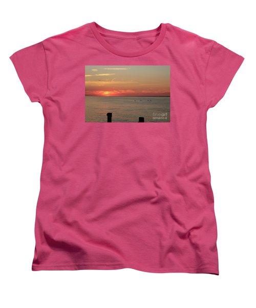 Fire Island Sunset Women's T-Shirt (Standard Cut)
