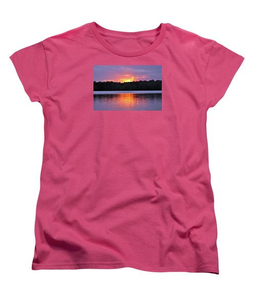 Women's T-Shirt (Standard Cut) featuring the photograph Sunsets by Glenn Gordon