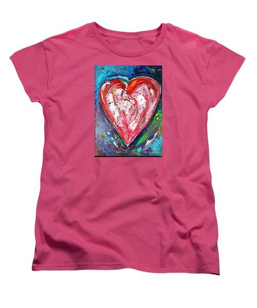 Fireworks Women's T-Shirt (Standard Cut) by Diana Bursztein