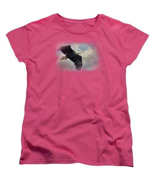 Fish In The Talons Women's T-Shirt (Standard Cut) by Jai Johnson