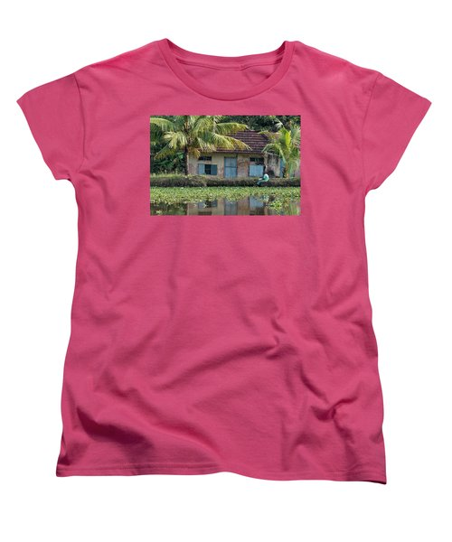 Fishing Women's T-Shirt (Standard Cut) by Marion Galt
