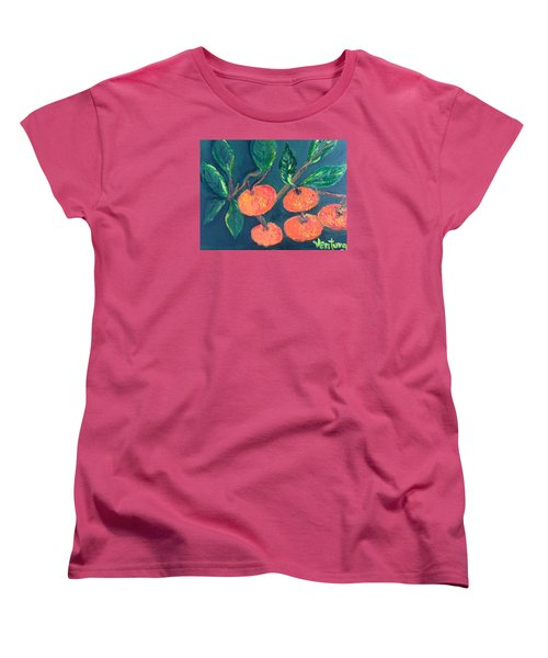 Five Tangerines Women's T-Shirt (Standard Cut)