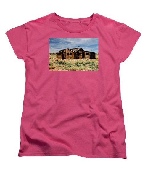 Fixer-upper Women's T-Shirt (Standard Cut) by Kathy McClure