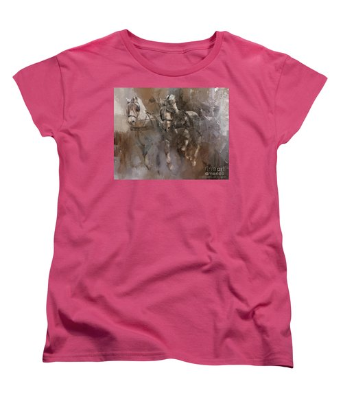 Fjords On The Run Women's T-Shirt (Standard Cut) by Kathy Russell