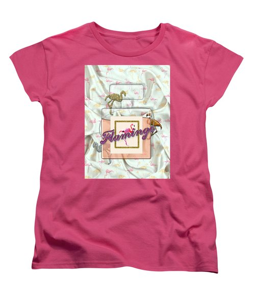 Flamingo Women's T-Shirt (Standard Cut) by La Reve Design