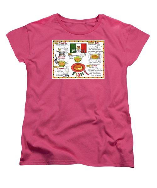 Flan Women's T-Shirt (Standard Cut)