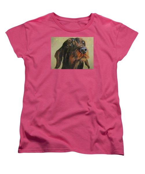 Flavi Women's T-Shirt (Standard Cut) by Barbara O'Toole