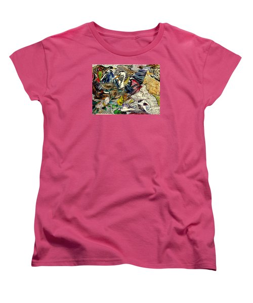 Flight Women's T-Shirt (Standard Cut) by Lisa Aerts