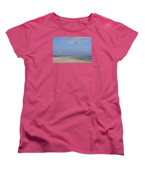 Flight Women's T-Shirt (Standard Cut) by Tammy Schneider