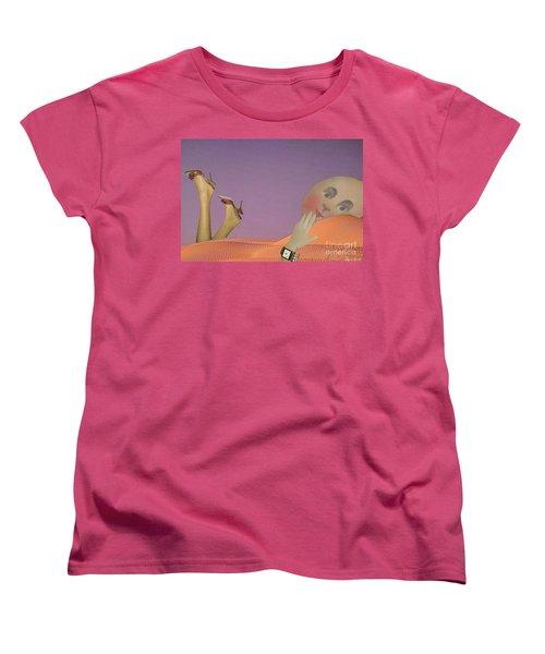 Flirt Women's T-Shirt (Standard Cut) by Lyric Lucas