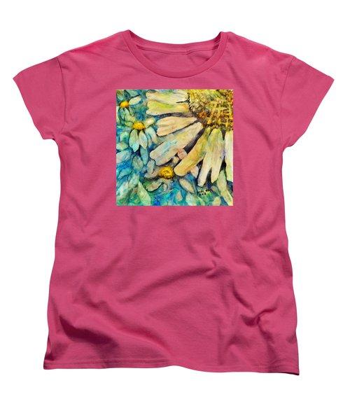 Floating Flowers Women's T-Shirt (Standard Cut)