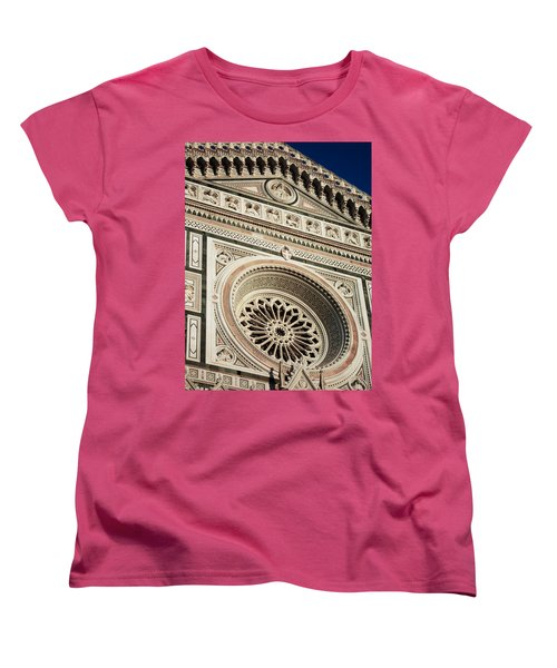 Women's T-Shirt (Standard Cut) featuring the photograph Florence by Silvia Bruno