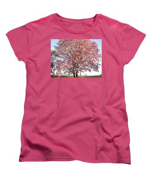 Flourish Women's T-Shirt (Standard Cut) by Beto Machado