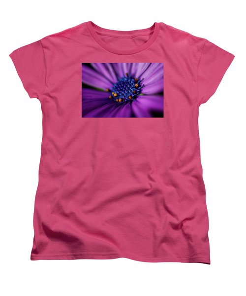 Women's T-Shirt (Standard Cut) featuring the photograph Flowers And Sand by Darren White