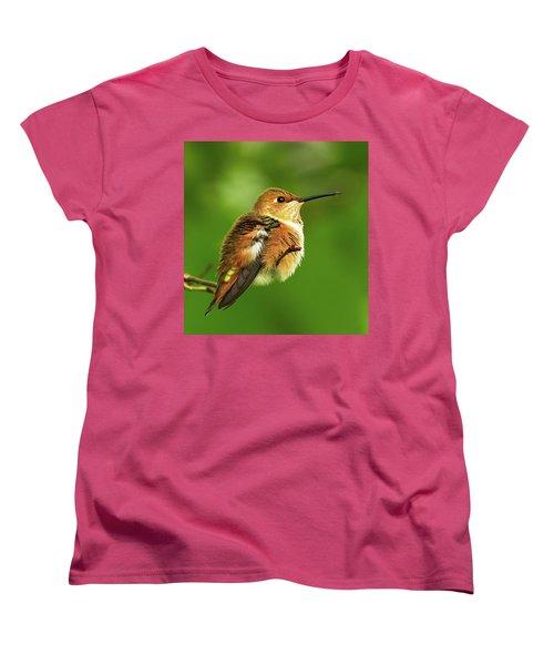 Fluff Ball Women's T-Shirt (Standard Cut) by Sheldon Bilsker