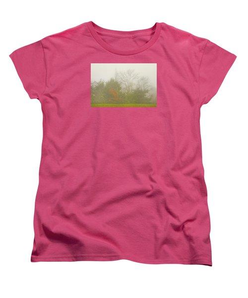 Fog In Autumn Women's T-Shirt (Standard Cut)