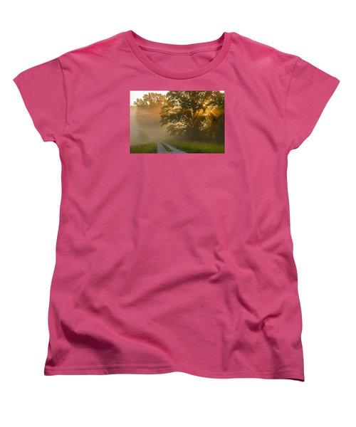 Fogy Summer Morning Women's T-Shirt (Standard Cut)
