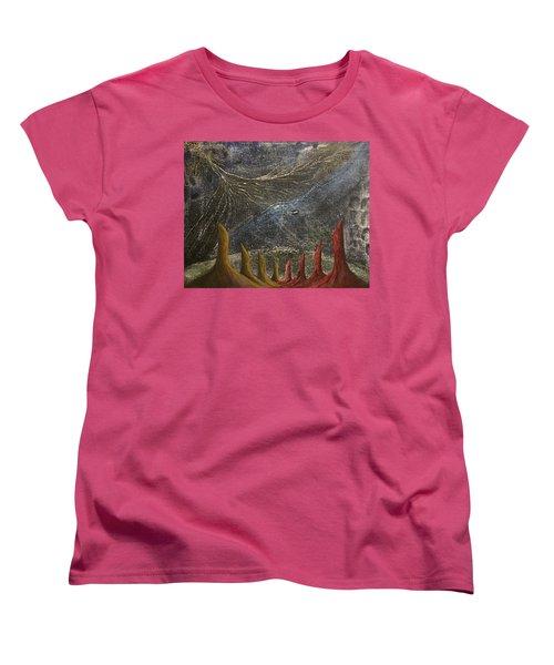 Follow Women's T-Shirt (Standard Cut) by Steve  Hester