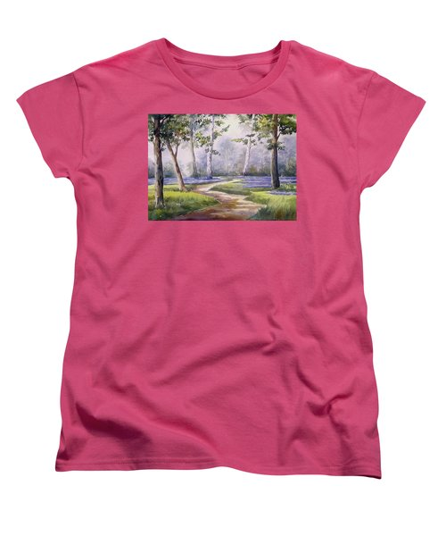 Forest  Women's T-Shirt (Standard Cut) by Samiran Sarkar