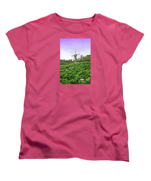Women's T-Shirt (Standard Cut) featuring the photograph Forget Me Not by DJ Florek