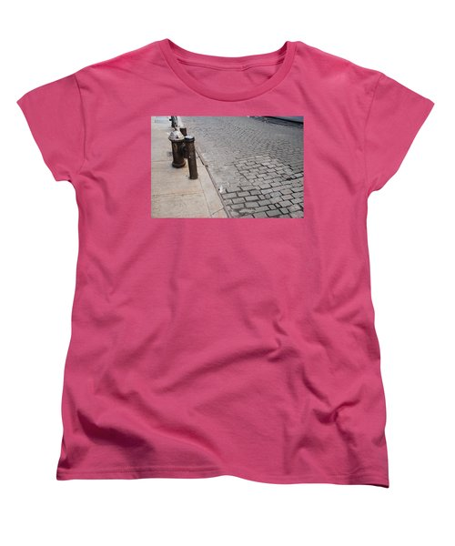 Women's T-Shirt (Standard Cut) featuring the photograph Forgotten N Y by Rob Hans
