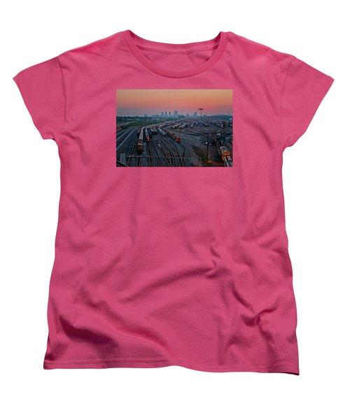 Fort Worth Trainyards Women's T-Shirt (Standard Cut)