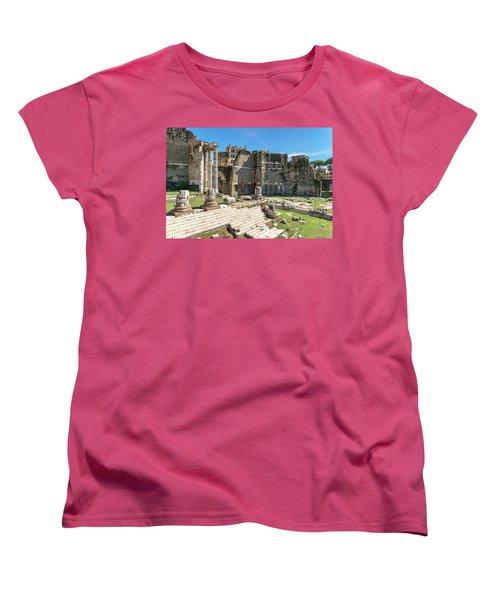 Women's T-Shirt (Standard Cut) featuring the photograph Forum Of Augustus by Scott Carruthers