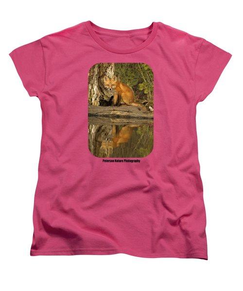 Fox Reflection Shirt Women's T-Shirt (Standard Cut) by James Peterson