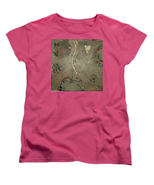 Fragments From Atlantis Women's T-Shirt (Standard Cut) by Bernard Goodman