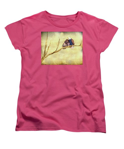 Women's T-Shirt (Standard Cut) featuring the photograph Freedom by James BO Insogna