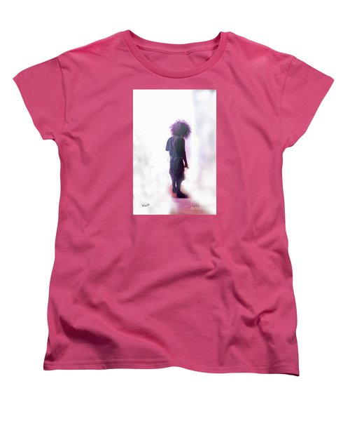 Frightdome Clown Women's T-Shirt (Standard Cut) by Walter Chamberlain