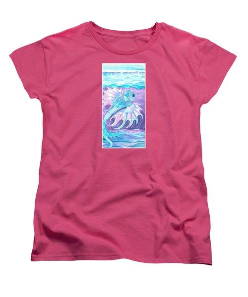 Frilled Fish Women's T-Shirt (Standard Cut) by Adria Trail
