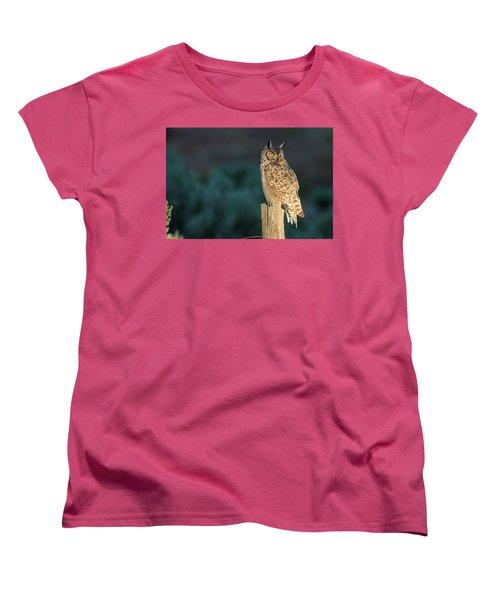 From Dusk Til Dawn Women's T-Shirt (Standard Cut) by Scott Warner