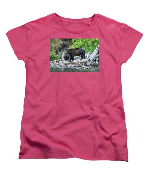 From The Great Bear Rainforest Women's T-Shirt (Standard Cut) by Scott Warner
