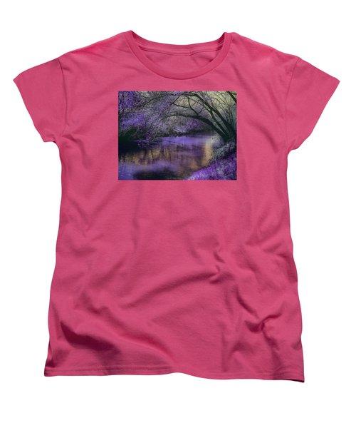 Frosty Lilac Wilderness Women's T-Shirt (Standard Cut)