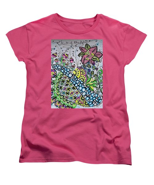 Fruit Of The Spirit Women's T-Shirt (Standard Cut) by Carole Brecht