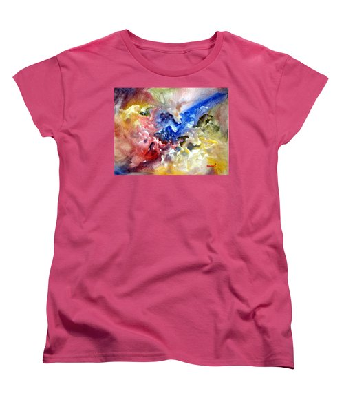 Women's T-Shirt (Standard Cut) featuring the painting Fruitfulness by Raymond Doward